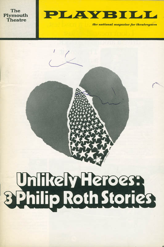 Image 3 for Unlikely Heroes Play Cast - Show Bill Signed Circa 1971 with co-signers - HFSID 301496