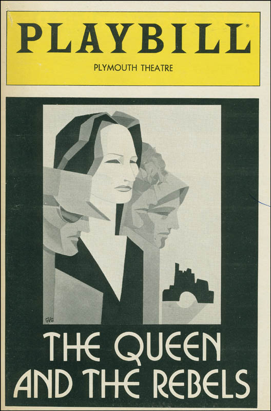 Image 3 for The Queen And The Rebels Broadway Cast - Show Bill Signed with co-signers - HFSID 301508