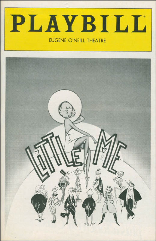 Image 3 for Little Me Play Cast - Show Bill Signed co-signed by: James 'Jimmy' Coco, Mary Gordon Murray, Robert Drivas, Jessica James, Don Correia - HFSID 301511