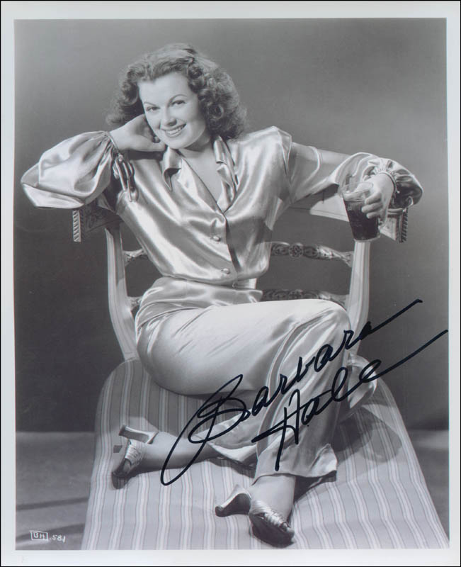 Image 1 for Barbara Hale - Autographed Signed Photograph - HFSID 301529
