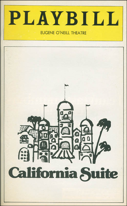 Image 3 for California Suite Play Cast - Show Bill Signed co-signed by: Tammy Grimes, David Mccallum, Vincent Gardenia, Marge Redmond - HFSID 301538