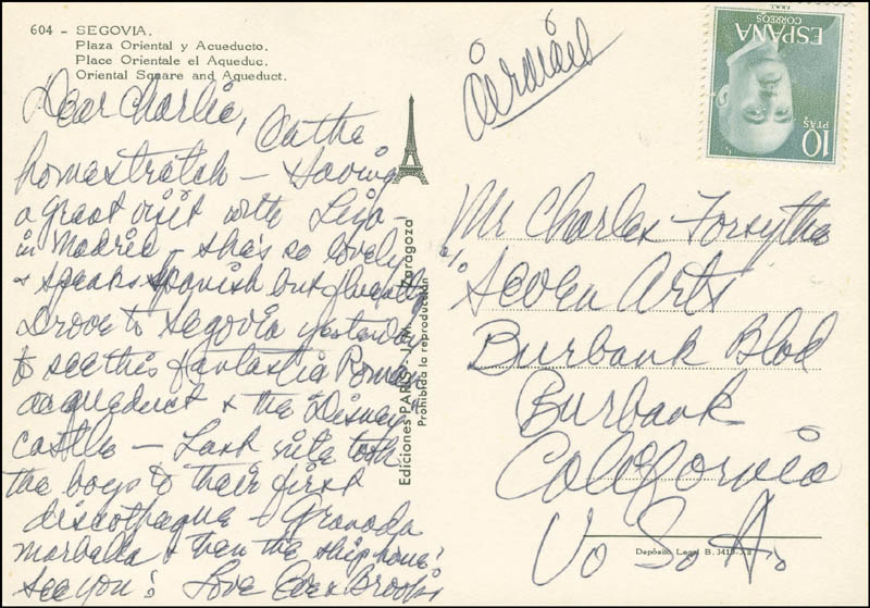 Image 1 for Eve Arden - Autograph Letter Signed - HFSID 302018