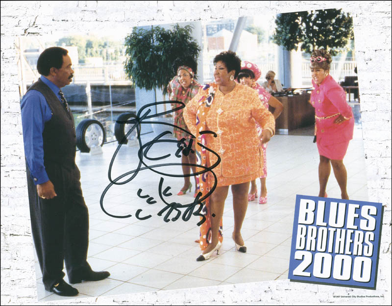 Image 1 for Aretha 'Queen Of Soul' Franklin - Autographed Signed Photograph - HFSID 302682