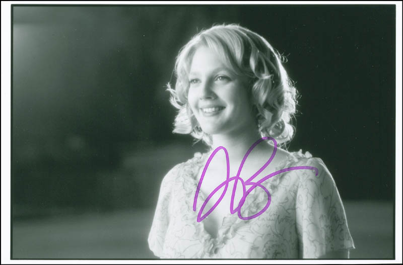 Image 1 for Drew Barrymore - Autographed Signed Photograph - HFSID 302711