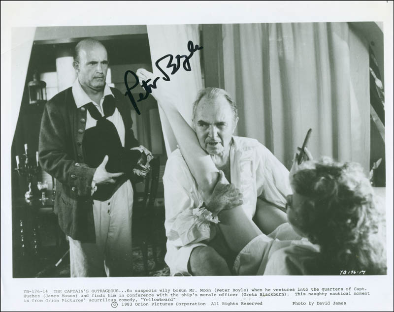 Image 1 for Peter Boyle - Autographed Signed Photograph - HFSID 302716
