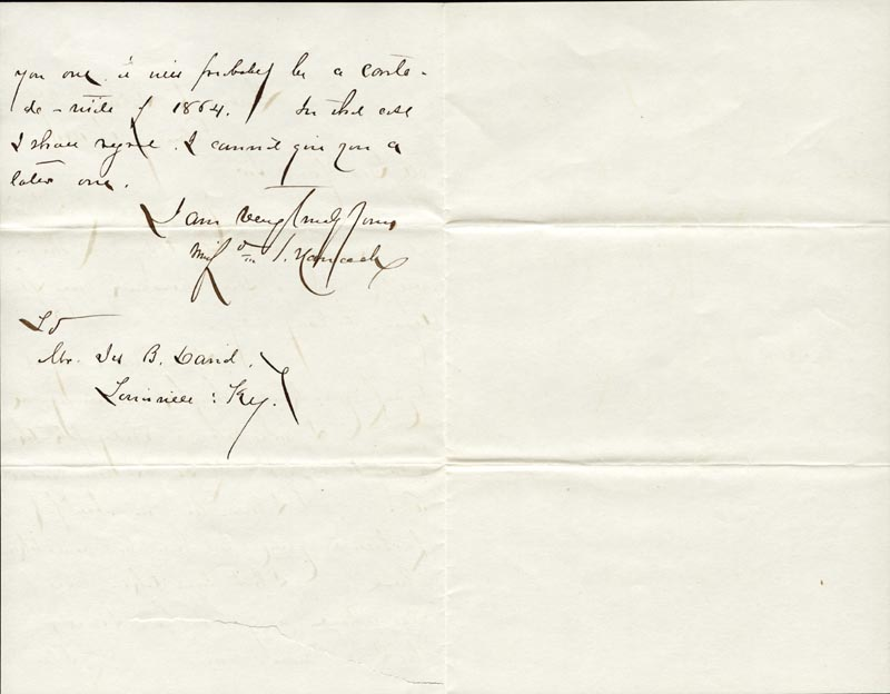 Image 1 for Major General Winfield Scott Hancock - Autograph Letter Signed 02/01/1880 - HFSID 30297