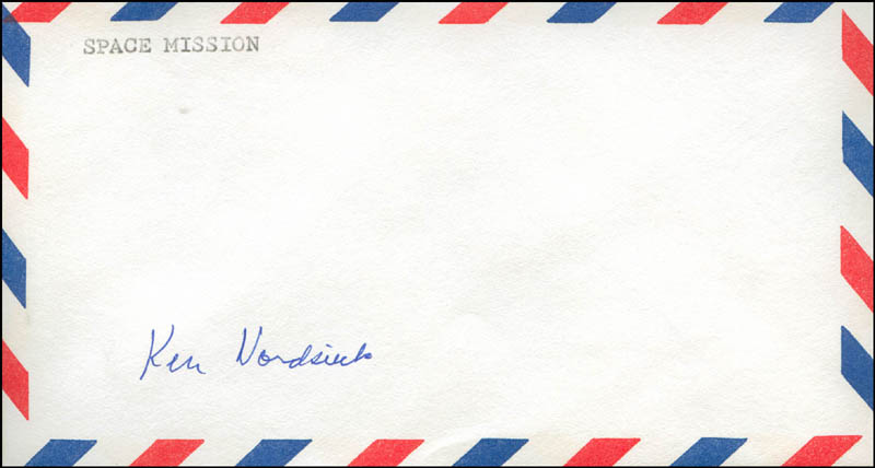 Image 1 for Ken Nordsieck - Envelope Signed - HFSID 303203
