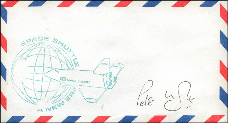 Image 1 for Commander Peter Longhurst - Envelope Signed - HFSID 303222