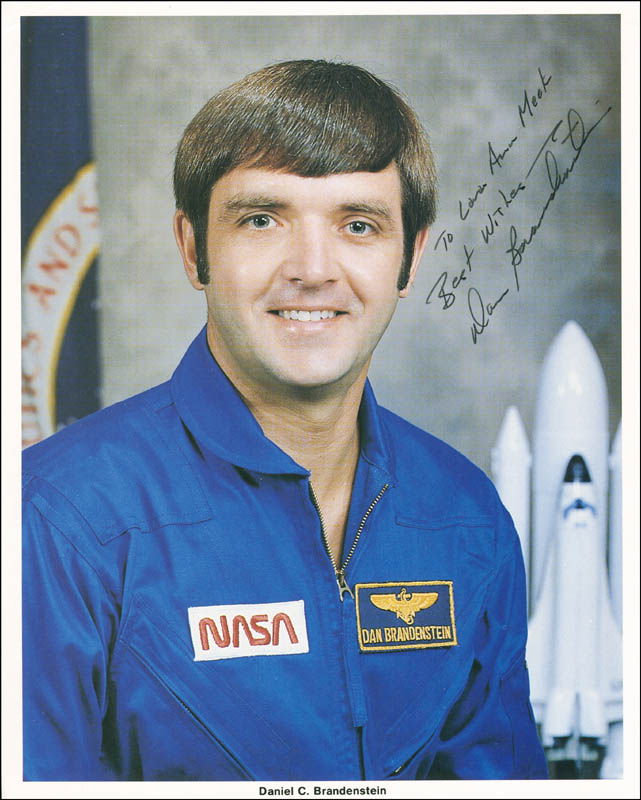 Image 1 for Captain Daniel C. Brandenstein - Autographed Inscribed Photograph - HFSID 303234