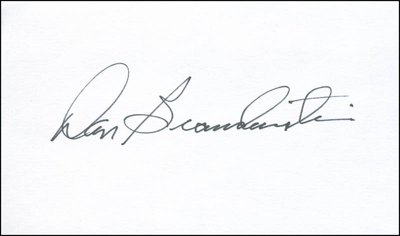 Image 1 for Captain Daniel C. Brandenstein - Autograph - HFSID 303536