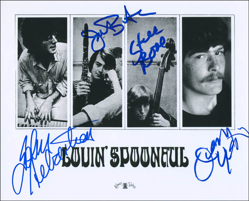 Image 1 for Lovin' Spoonful - Autographed Signed Photograph with co-signers - HFSID 303701