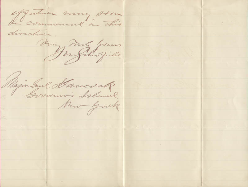 Image 1 for Lt. General John M. Schofield - Autograph Letter Signed 12/04/1885 - HFSID 30373