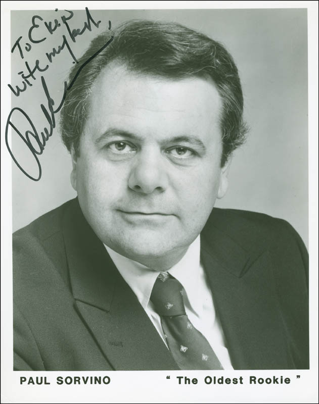 Image 1 for Paul Sorvino - Autographed Inscribed Photograph - HFSID 304000