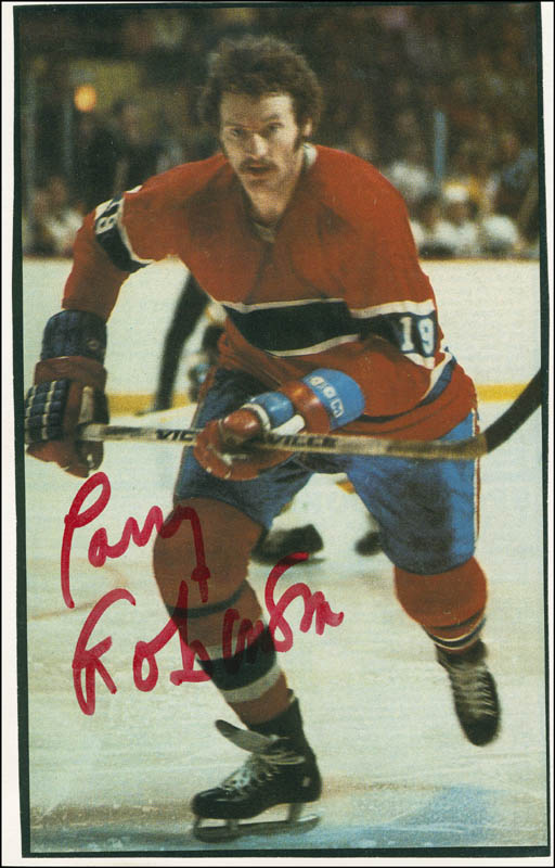 Image 1 for Larry Robinson - Magazine Photograph Signed - HFSID 304065