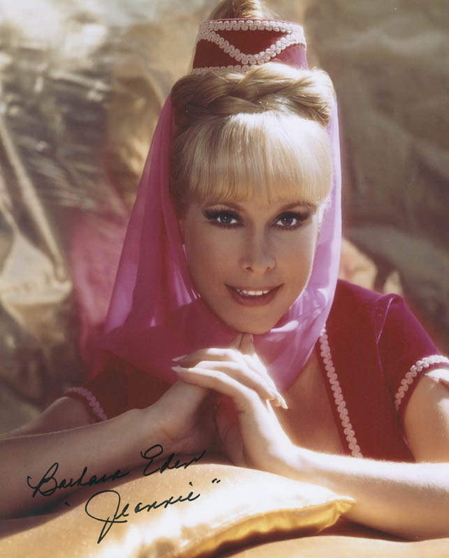 Image 1 for Barbara Eden - Autographed Signed Photograph - HFSID 304122