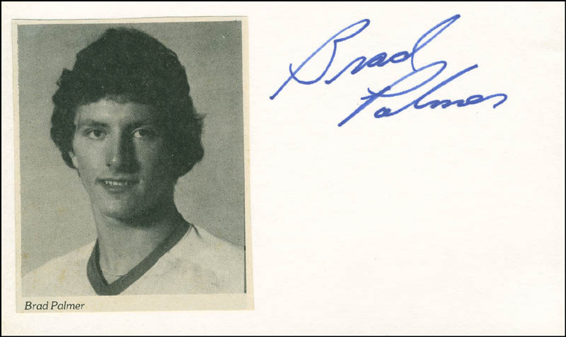 Image 1 for Brad Palmer - Autograph - HFSID 304313