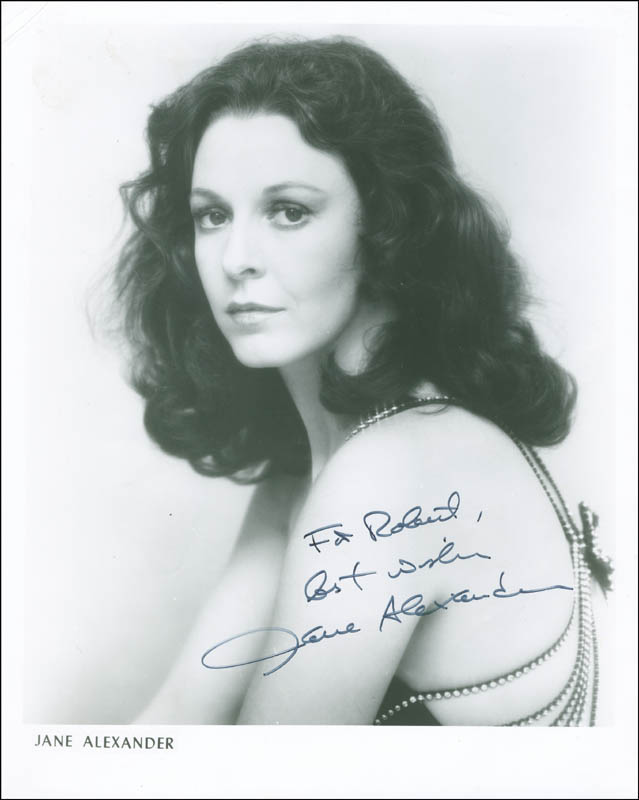 Image 1 for Jane Alexander - Autographed Inscribed Photograph - HFSID 304397