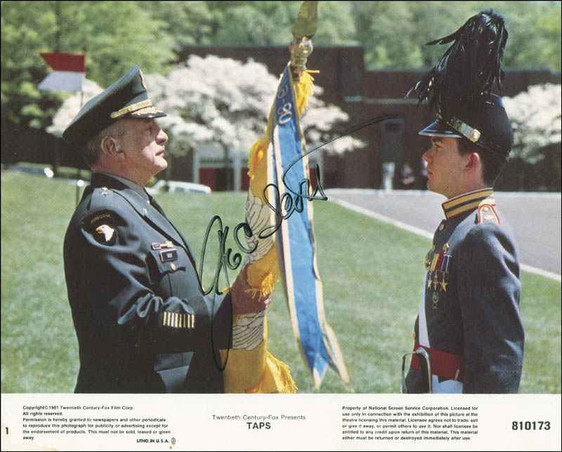 Image 1 for George C. Scott - Autographed Signed Photograph - HFSID 304424