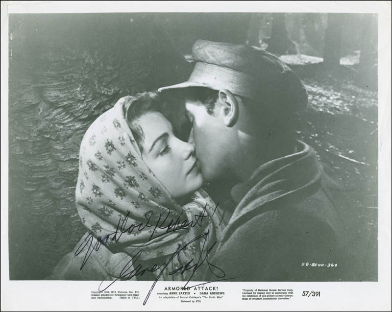 Image 1 for Anne Baxter - Autographed Inscribed Photograph - HFSID 304435