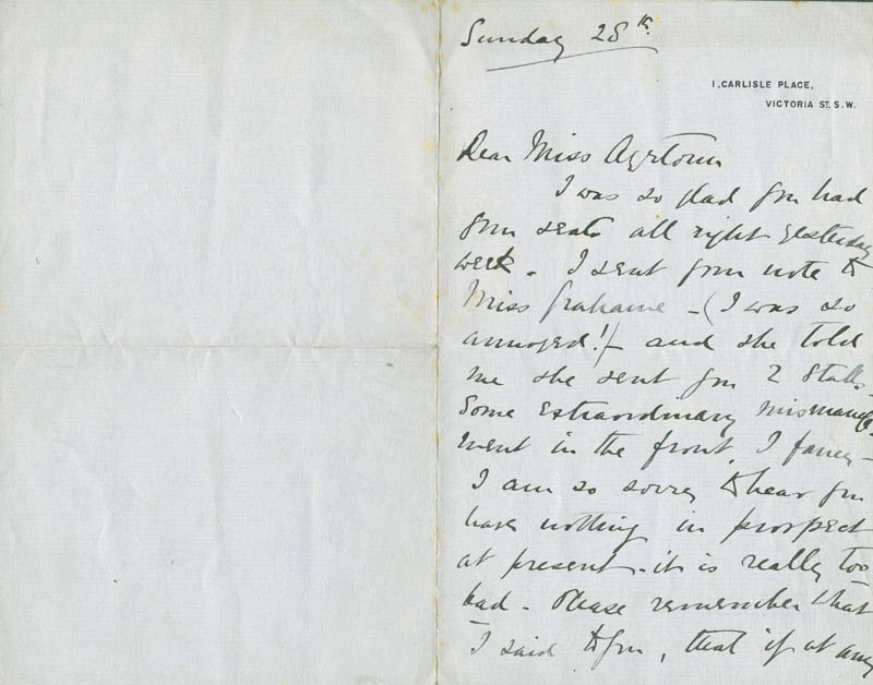 Image 3 for William Herbert - Autograph Letter Signed - HFSID 304514