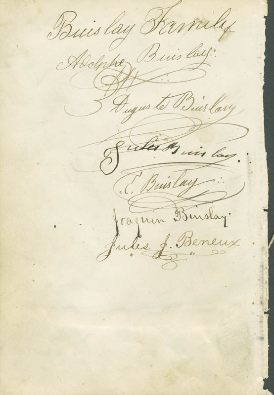 Image 3 for Barney Williams - Autograph Sentiment Signed with co-signers - HFSID 304776