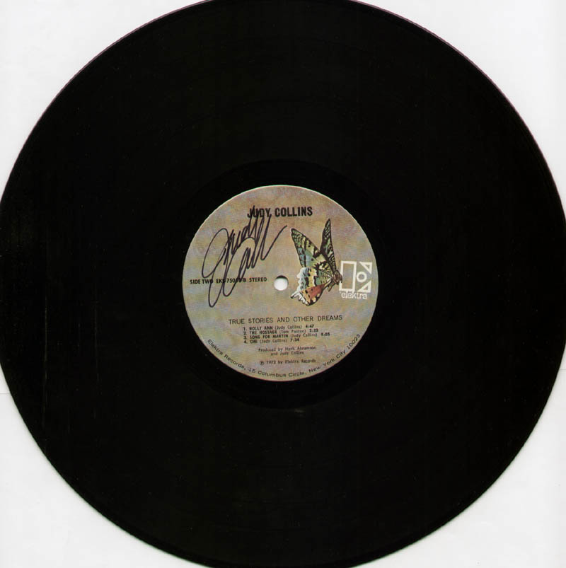 Image 1 for Judy Collins - Record Signed - HFSID 304888