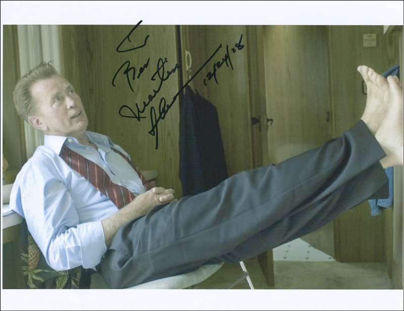 Image 1 for Martin Sheen - Autographed Inscribed Photograph 12/24/2008 - HFSID 304999