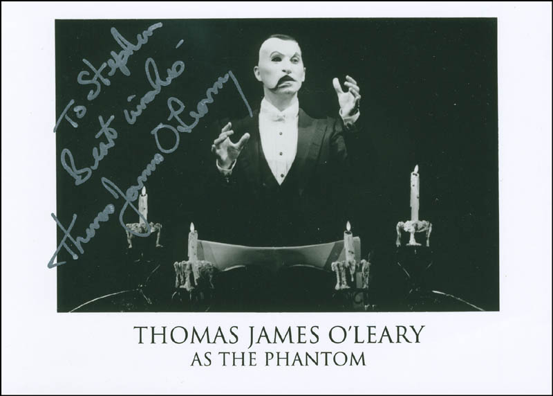 Image 1 for Thomas James O'Leary - Autographed Inscribed Photograph - HFSID 305172