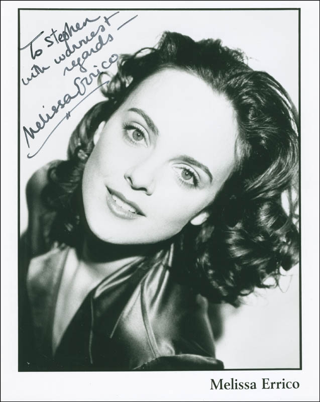 Image 1 for Melissa Errico - Autographed Inscribed Photograph - HFSID 305226