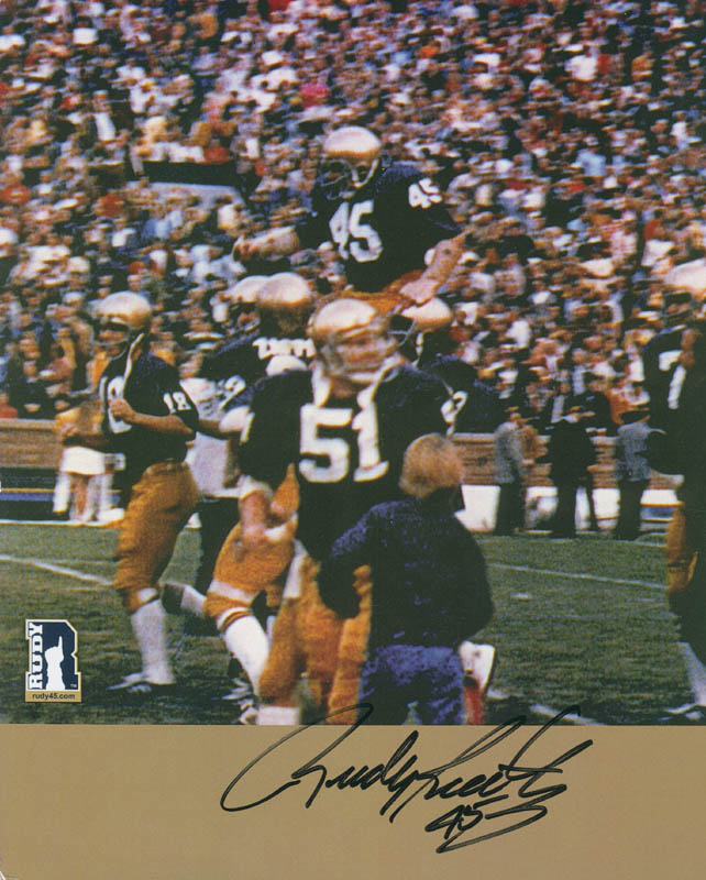 Rudy today ruettiger is where The Shady