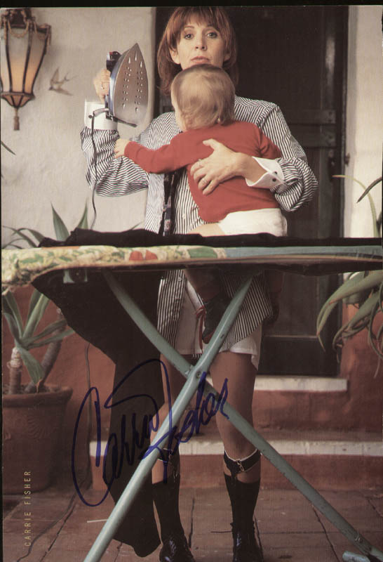Image 1 for Carrie Fisher - Magazine Photograph Signed - HFSID 305451