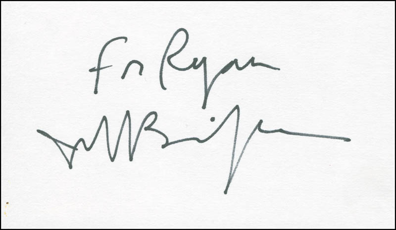 Image 1 for Jeff Bridges - Inscribed Signature - HFSID 305452