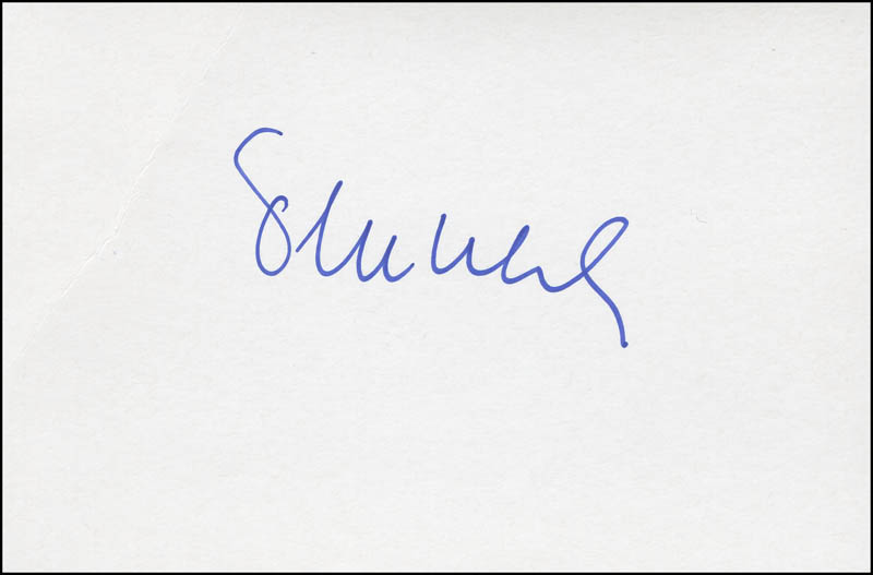 Image 1 for Petr Uhl - Autograph - HFSID 305567