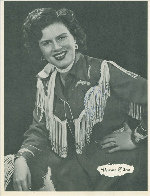 Image 1 for Patsy Cline - Magazine Photograph Signed - HFSID 305673