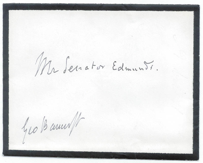 Image 3 for George Bancroft - Autograph Letter Signed 11/11 - HFSID 3061