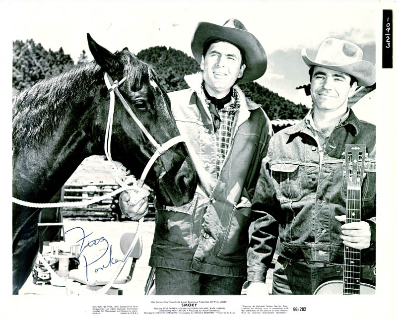 Image 1 for Fess Parker - Autographed Signed Photograph - HFSID 30700
