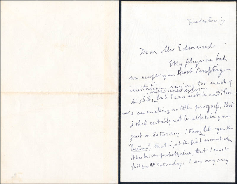 Image 1 for George Bancroft - Autograph Letter Signed - HFSID 3071