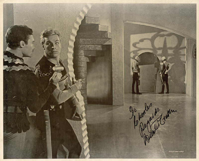 Image 1 for Buster Crabbe - Autographed Inscribed Photograph - HFSID 30746