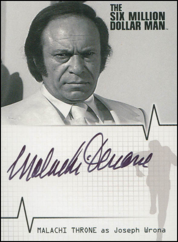 Image 1 for Malachi Throne - Trading/Sports Card Signed - HFSID 308065