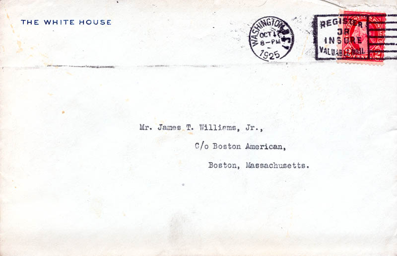 Image 3 for President Calvin Coolidge - Typed Letter Signed 10/17/1925 - HFSID 30812