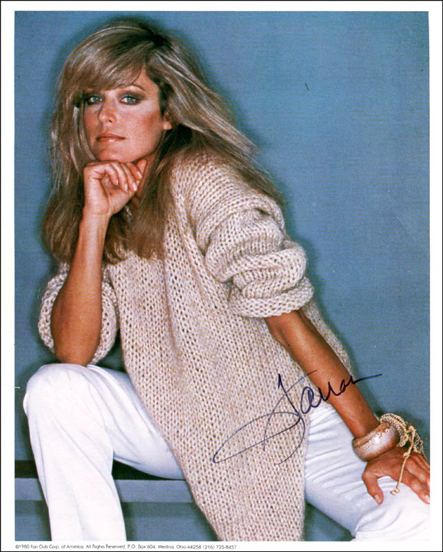Image 1 for Farrah Fawcett - Autographed Signed Photograph - HFSID 308254