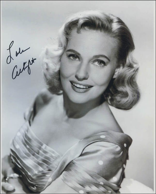 Image 1 for Lola Albright - Autographed Signed Photograph 04/02/2013 - HFSID 308337