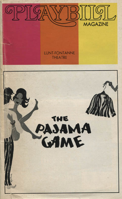 Image 3 for The Pajama Game Play Cast - Show Bill Signed with co-signers - HFSID 309103