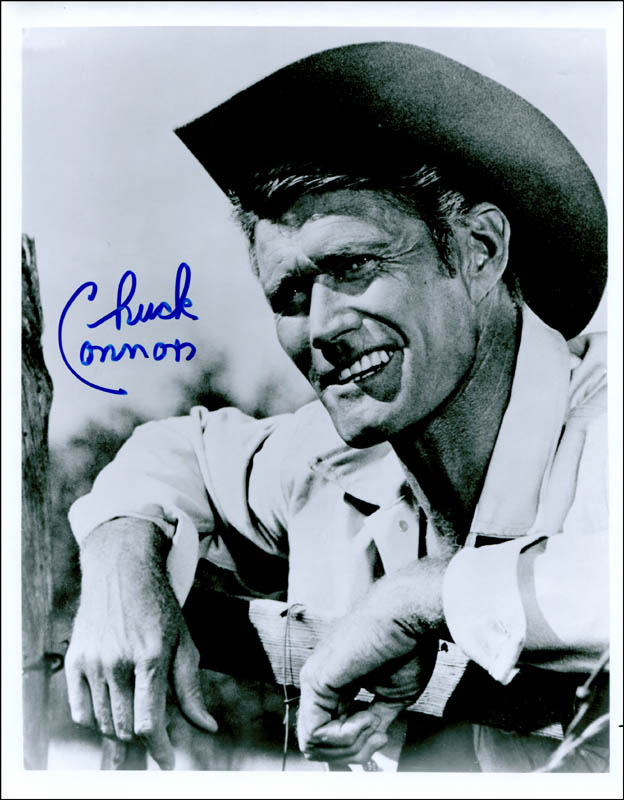 Image 1 for Chuck Connors - Autographed Signed Photograph - HFSID 309390