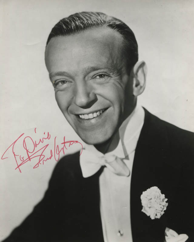 Image 1 for Fred Astaire - Autographed Inscribed Photograph - HFSID 309869