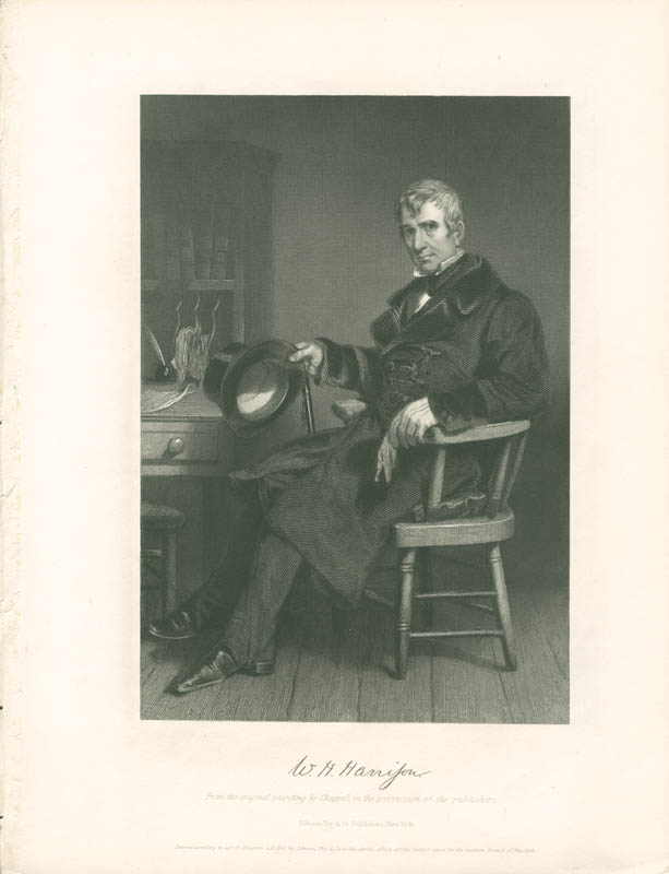 Image 1 for President William Henry Harrison - Engraving Unsigned - HFSID 3103762