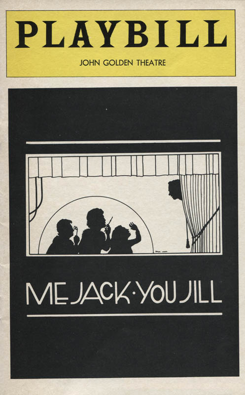 Image 3 for Me Jack, You Jill Play Cast - Show Bill Signed with co-signers - HFSID 310395