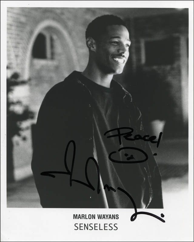 Image 1 for Marlon Wayans - Autographed Signed Photograph - HFSID 310397