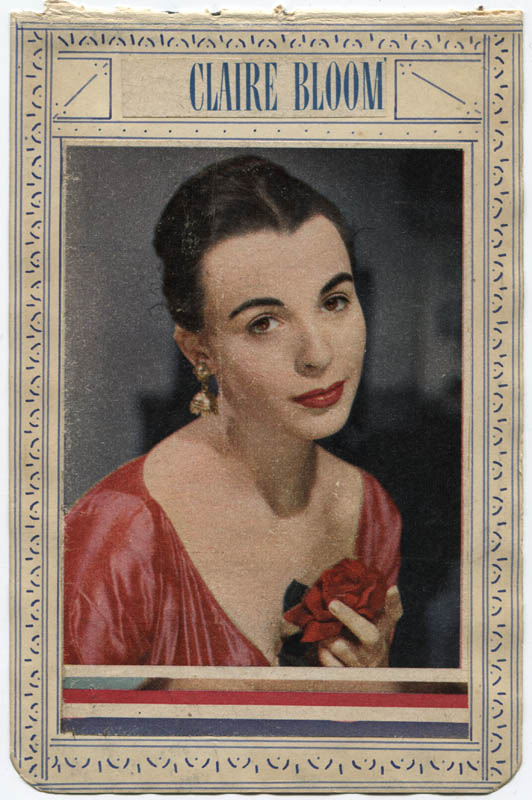 Image 3 for Claire Bloom - Autograph Sentiment Signed Circa 1952 - HFSID 310629