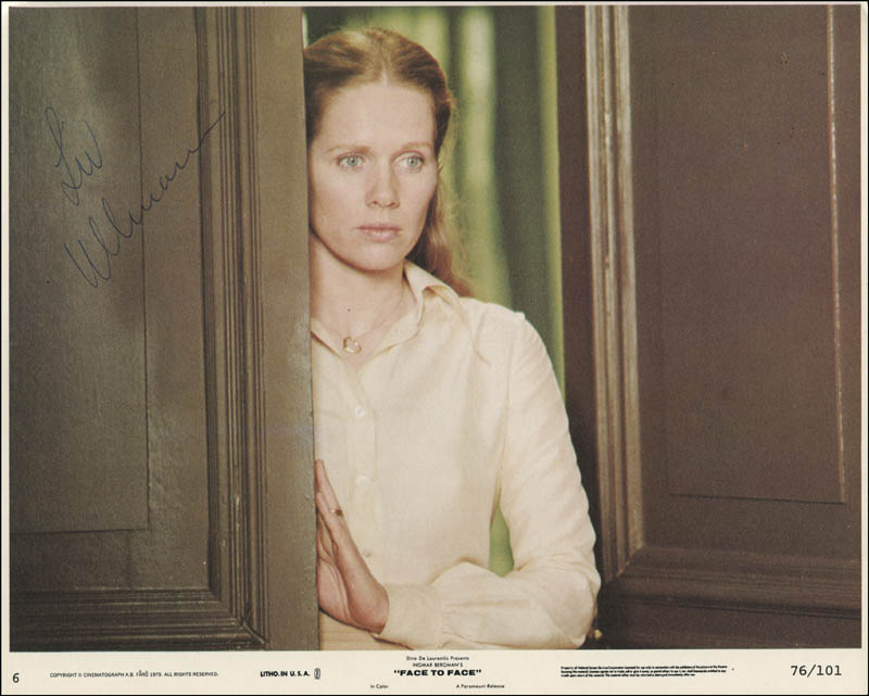 Image 1 for Liv Ullmann - Autographed Signed Photograph - HFSID 310724